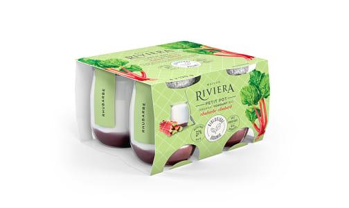 Organic Petit Pot - Rhubarb Yogurt- Code#: DY631