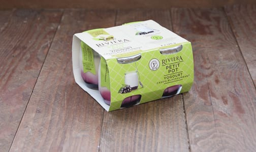 Organic Petit Pot - Blackcurrant Yogurt- Code#: DY633