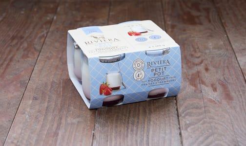Petit Pot - Strawberry Goat Yogurt- Code#: DY640