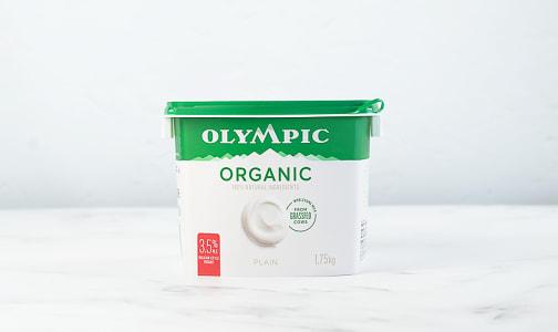 Organic Plain Yogurt Pail - 3.5% MF- Code#: DY700