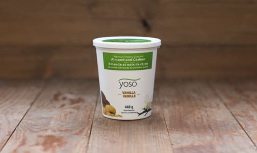 Cultured Almond & Cashew Yogurt - Vanilla- Code#: DY852