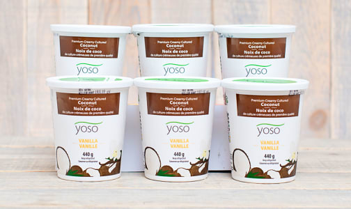 Cultured Coconut Yogurt - Vanilla - CASE- Code#: DY860-CS