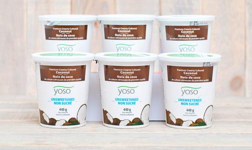 Cultured Coconut Yogurt - Unsweetened - CASE- Code#: DY864-CS