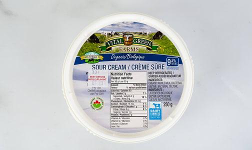 Organic Sour Cream- Code#: DA0697