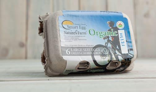 Organic Smart Omega 3 Eggs- Code#: EG0008