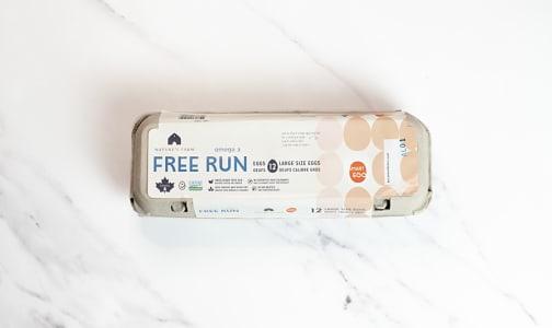 Smart Omega 3 Free Run Eggs, Large- Code#: EG0018