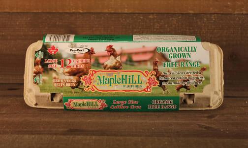 Organic Eggs - Large- Code#: EG101
