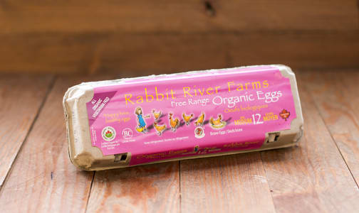 Organic Eggs, Medium - SPCA Certified- Code#: EG107