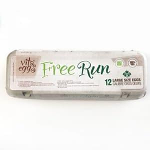Free Run Eggs - Large- Code#: EG3202