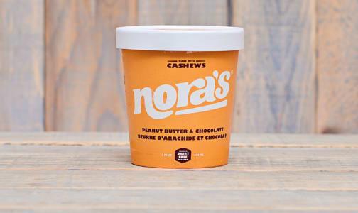 Peanut Butter & Chocolate Non-Dairy Ice Cream (Frozen)- Code#: FD0008