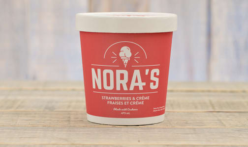 Strawberries & Creme Non-Dairy Ice Cream (Frozen)- Code#: FD0009