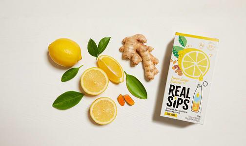 Lemon Ginger Turmeric Sips (Frozen)- Code#: FD0067