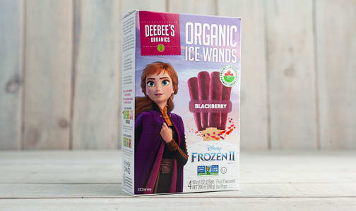 Organic Ice Wands - Anna - Blackberry (Frozen)- Code#: FD0077