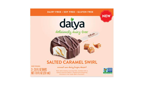 Dessert Bar - Salted Caramel Coconut (Frozen)- Code#: FD0081
