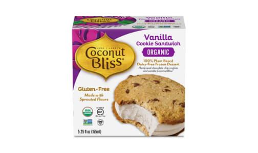 Organic Vanilla Cookie Sandwich (Frozen)- Code#: FD0083
