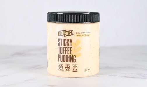 Sticky Toffee Pudding Gelato (Frozen)- Code#: FD0113