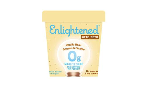 Keto Icecream, Vanilla Bean (Frozen)- Code#: FD0127