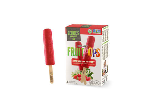 Strawberry Harvest Fruitpops (Frozen)- Code#: FD10009