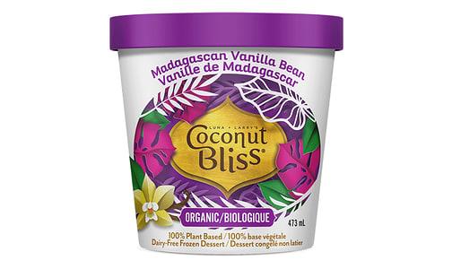 Organic Madagascar Vanilla Island Frozen Coconut Milk Dessert (Frozen)- Code#: FD200