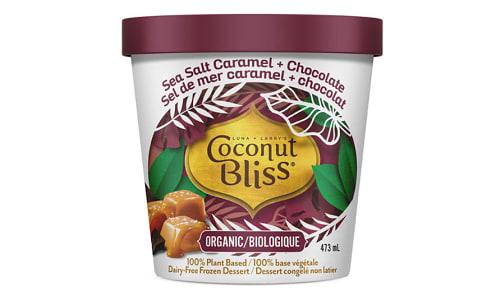 Organic Salted Caramel & Chocolate Frozen Coconut Milk Dessert (Frozen)- Code#: FD202
