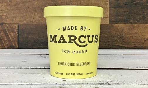 Lemon Curd + Wild Blueberry Ice Cream (Frozen)- Code#: FD3032