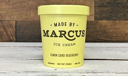 Lemon Curd + Wild Blueberry Ice Cream (Frozen)- Code#: FD3032