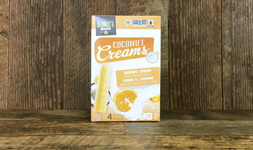 Organic Coconut Creams Orange Cream (Frozen)- Code#: FD696