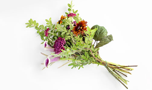 Fresh Cut Flowers - Medium Bouquet- Code#: FF100