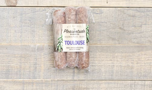 Toulouse Bacon Sausages (Frozen)- Code#: FZ0058