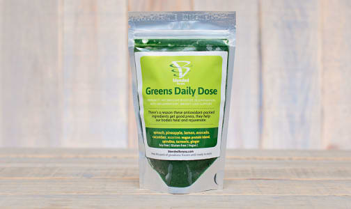Greens Daily Dose Smoothie Pack (Frozen)- Code#: FZ0079