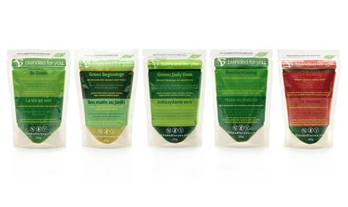 Green Lovers Smoothie Packs (Frozen)- Code#: FZ0084