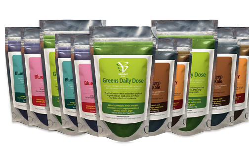3 Day Cleanse & Re-Set 15 Smoothie Packs (Frozen)- Code#: FZ0086