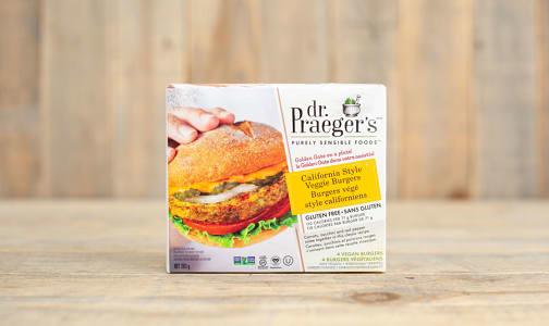 California Veggie Burgers (Frozen)- Code#: FZ0118