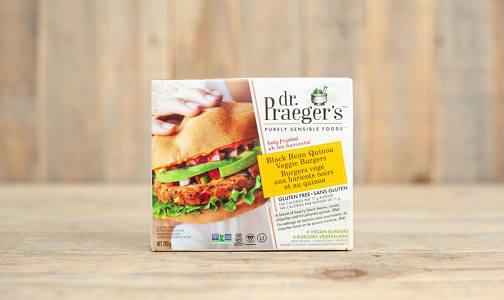 Black Bean & Quinoa Veggie Burger (Frozen)- Code#: FZ0119
