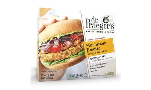 Mushroom Risotto Veggie Burgers (Frozen)- Code#: FZ0121