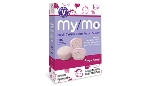 Dairy-Free Strawberry Mochi Ice Cream (Frozen)- Code#: FZ0134