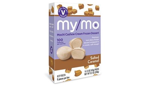 Dairy-Free Salted Caramel Mochi Ice Cream (Frozen)- Code#: FZ0136