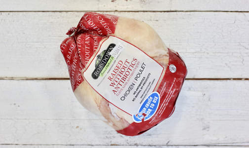 Whole Chicken - Raised Without Antibiotics (Frozen)- Code#: FZ0153