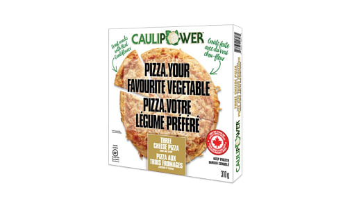 3 Cheese Cauliflower Pizza (Frozen)- Code#: FZ0184