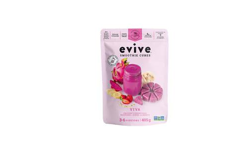 Organic Viva Smoothie Cubes (Frozen)- Code#: FZ0239