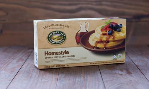 Organic Homestyle Waffles (Frozen)- Code#: FZ024