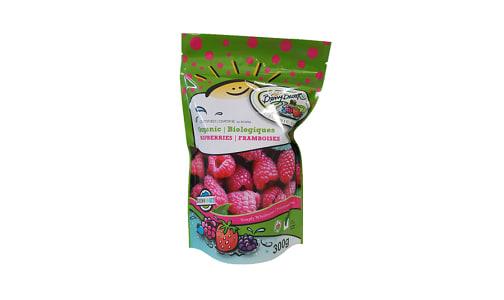 Organic Raspberries (Frozen)- Code#: FZ0266
