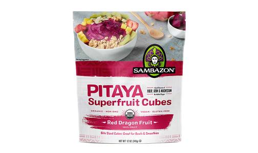 Organic Pitaya Superfruit Cubes (Frozen)- Code#: FZ0268