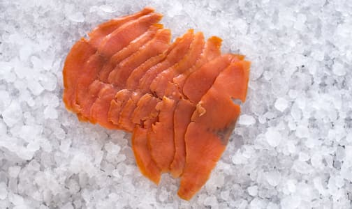 Smoked Wild Sockeye Salmon (Frozen)- Code#: MP3228