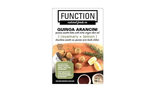 Quinoa Arancini - Rosemary & Lemon (Frozen)- Code#: FZ1273