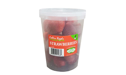 Organic Strawberries (Frozen)- Code#: FZ133