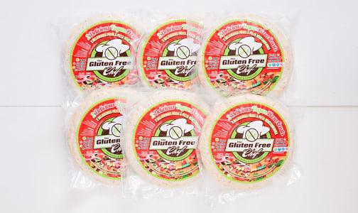 10  Vegan Pizza Crusts - CASE (Frozen)- Code#: FZ1601-CS