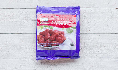 Organic Strawberries (Frozen)- Code#: FZ3011