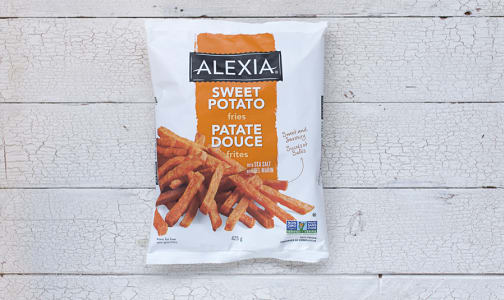 Sweet Potato Fries (Frozen)- Code#: FZ303