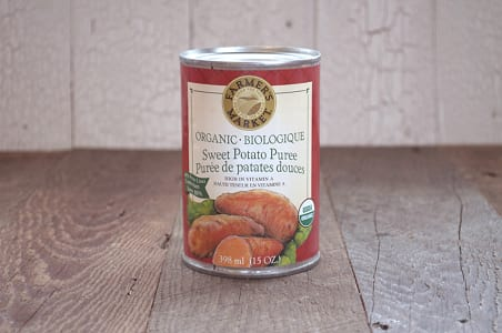 Organic Sweet Potato Puree - BPA Free- Code#: FZ7203